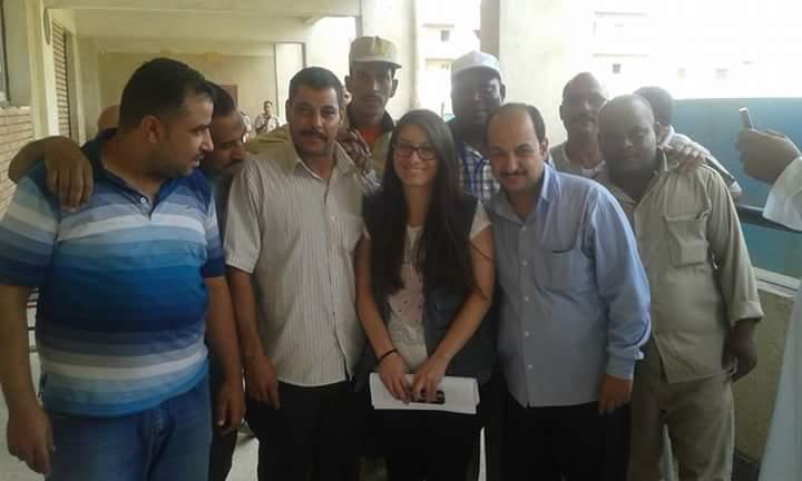 وصل اليوم بعثة من المراقبين الدوليين في مركز شبراخيت بالبحيرة