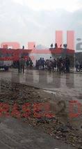 بسبب الامطار: انفجار ماسورة المياه الرئيسية و تعطل مترو حلوان