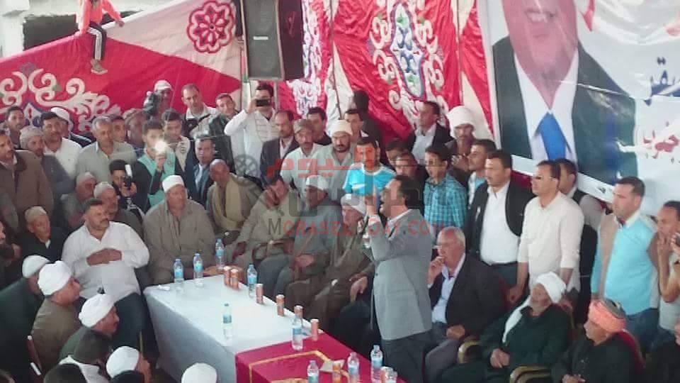 بالصور مؤتمر جماهيرى حاشد لعز بورسعيد الحسينى ابوقمر وكيل لجنة الشباب و الرياضة بمجلس 2010