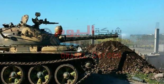 هكذا يفاجئ الجيش العربي السوري المسلحين في ريف اللاذقية