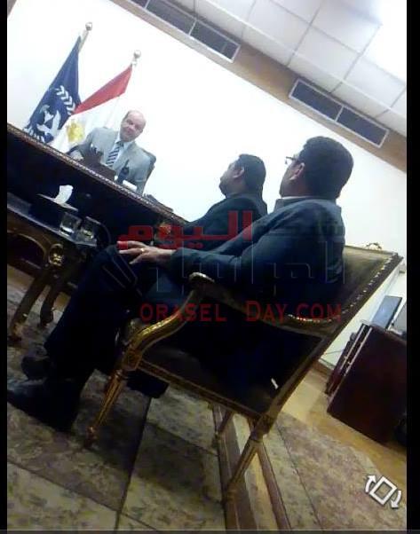 مدير امن الاسكندريه يلتقى بطارق اباظه رئيس الحمله القوميه لمكافه الارهاب والتطرف امس