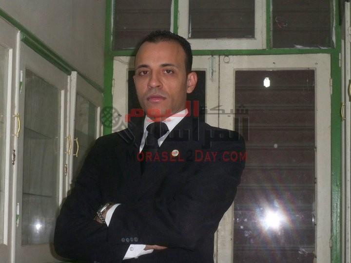 الرائد وائل عبد الحى والصحفى سعيد بريك الاثنان يعملان فى حب مصر
