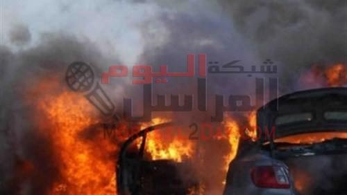 انفجار سيارة خلف قسم ثالث العريش