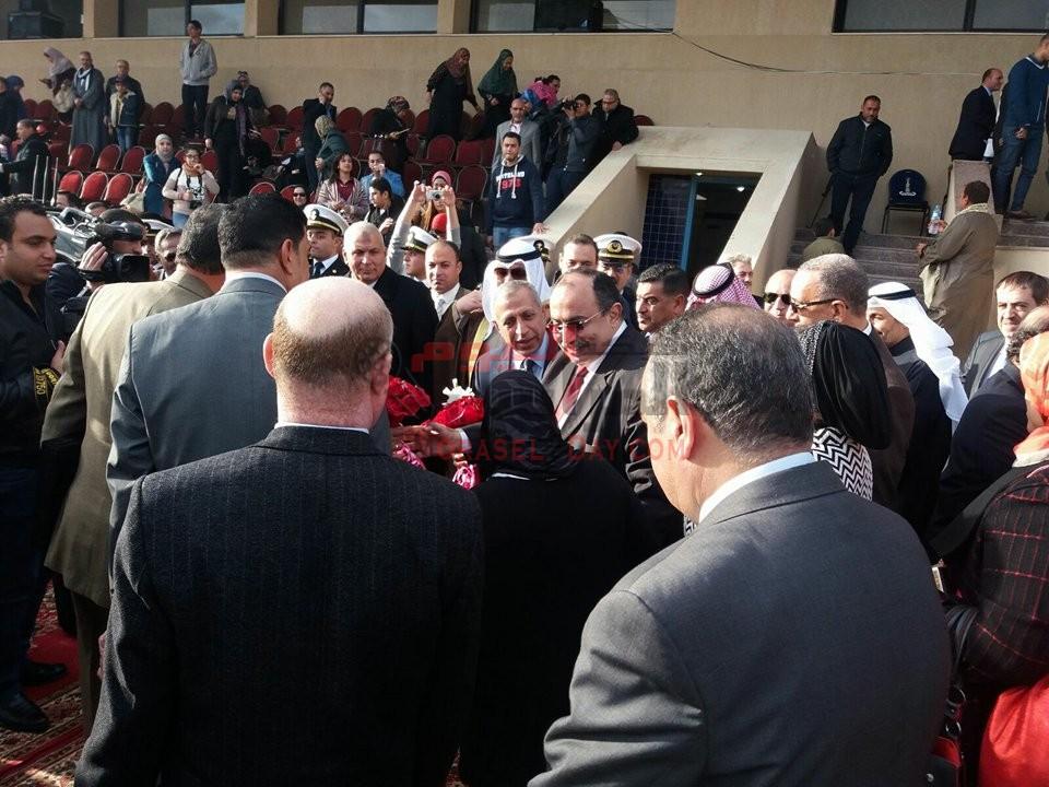 احتفال  الأكاديمية العربية للعلوم والتكنولوجيا بتخريج دفعة جديدة