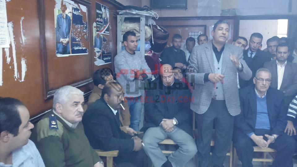 استجابه لمطالب اعتصام محامى السادات