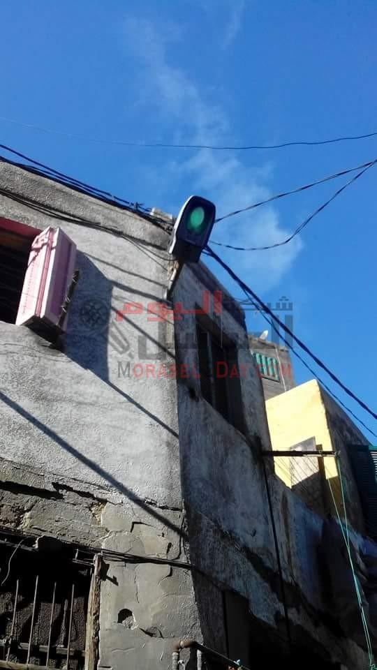 حي الجمرك ينير شوارع الحي المظلمة