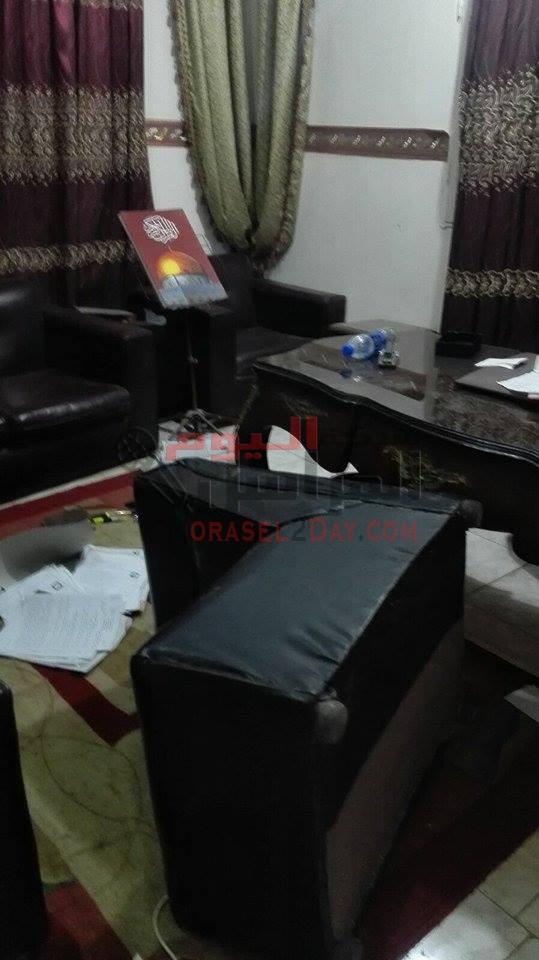 بلاغ لوزير الداخليه الشرطه تقتحم مكتب محاميه بالفيوم بعد منتصف الليل