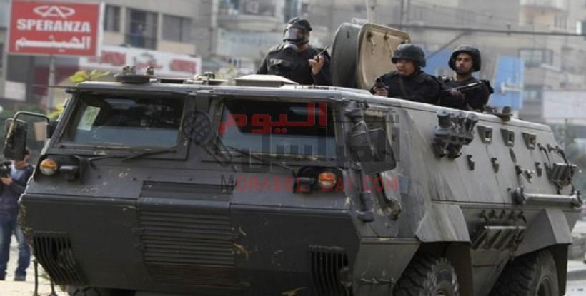 استشهاد مجندين وإصابة اثنين آخرين فى انفجار مدرعة برفح