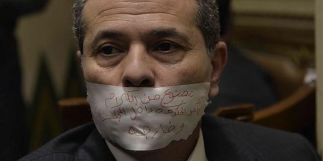 هل يواجه توفيق عكاشة عقوبة بعد لقائه سفير إسرائيل؟