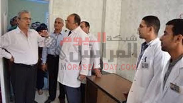 إغلاق 5 أقسام بمستشفى بالمنيا لعدم تطبيق إجراءات مكافحة العدوى