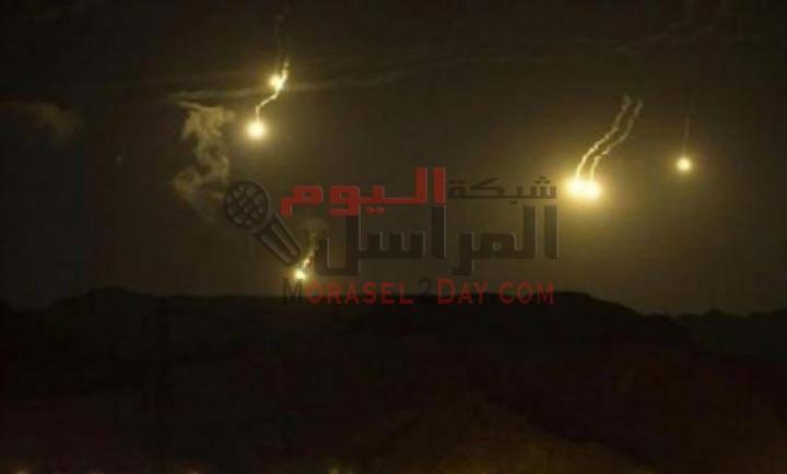 فيديو :: انفجارات سورية تهز مدينة الرمثا.. ومواطنون يغادرون منازلهم