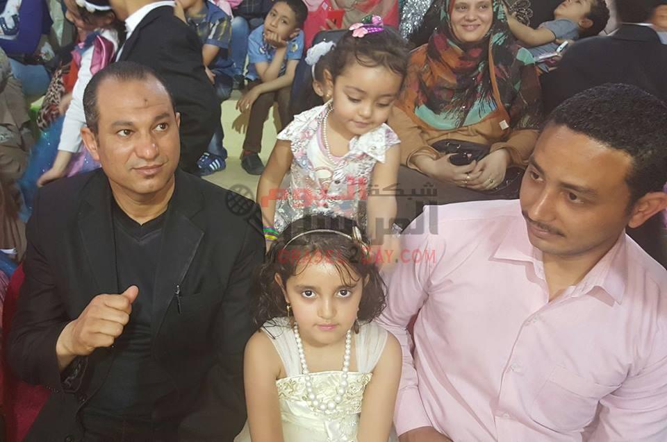 عزة زيدان التجريبية بالفيوم تحتفل بحفل ختام الأنشطة لرياض الأطفال