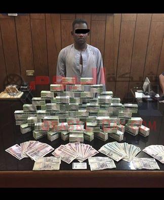 مباحث سوهاج تلقي القبض علي تاجر مواد مخدرة