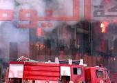 اندلاع حريق بمصنع لتدوير مخلفات القطن بالفيوم
