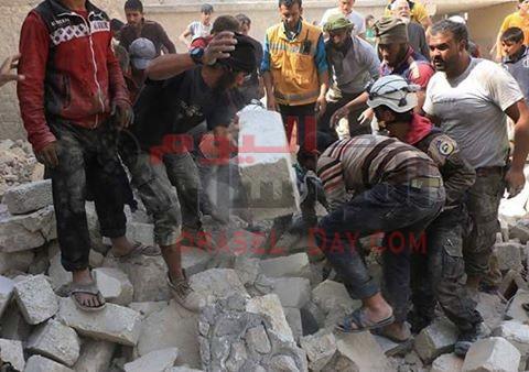 مقتل 3 نساء في قصف صاروخي على مستشفى بحلب اليوم
