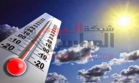 الأرصاد : الطقس غداً شديد الحرارة على معظم الأنحاء… والعظمى بالقاهرة 37