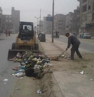 محافظة الفيوم العلاقات العامة حملة مكبرة للنظافة العامة ورفع الإشغالات بمدينة الفيوم