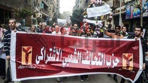 """""""الشعبي الاشتراكي"""": النظام يحاول التعمية على """"تيران وصنافير"""" بالقمع"""