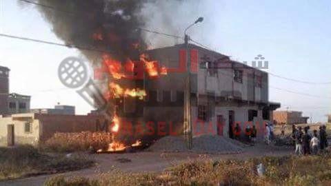 السيطرة على حريق بمحيط «شونة قمح» بإطسا في الفيوم