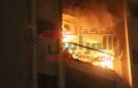 إصابة ربة منزل في حريق بمركز اطسا بالفيوم