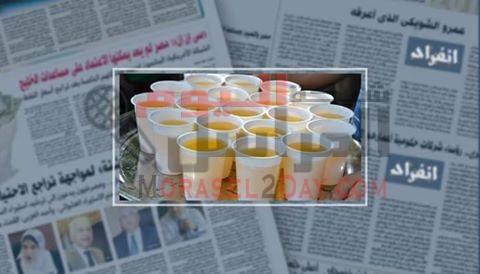 تحذير قبل توزيعة في رمضان علي المساجد خطر الموت.. مركب كميائى بعصائر البودرة يصيب بالسرطان