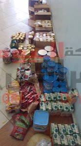 ضبط تموين الوادى اغذية فاسدة فى حملة بمركز الخارجة .