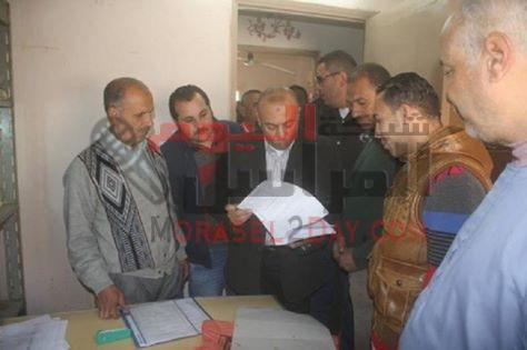 عبدالباسط يفاجئ مدينة تلا ويجازى العاملين بمجلس المدينة ….