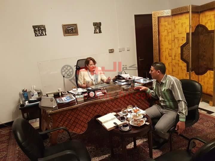 السفيره سهى إبراهيم الفار فى أجرأ حديث صحفى لشبكه المراسل اليوم