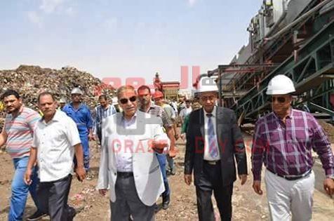 بدء التشغيل الفعلى للخط الثالث لمصنع تدوير القمامة والمخلفات بمنطقة أبوبلح بأول طريق الاسماعيلية – السويس الصحراوى…