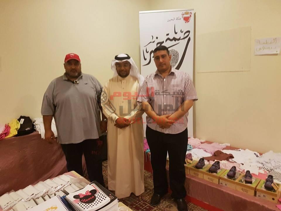 حوار صحفي مع الناشط الاجتماعي عمر عيسي رئيس جمعية بصمة خير البحرينية