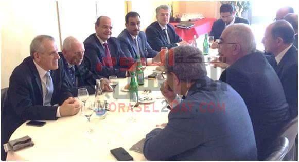 السفير سامح أبو العينين وتبادل وجهات النظر لاستعراض عمل الأمانة العامة لجامعة الدول العربية