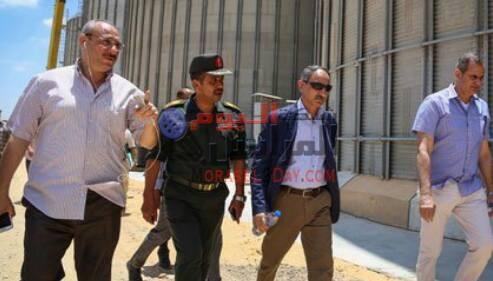 بالصور : وصول لجنة تقصى الحقائق إلى صومعة الاسد بالبحيرة .