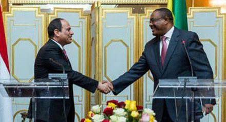 منذ قليل ,, يجتمع الرئيس عبد الفتاح السيسي مع رئيس وزراء أثيوبيا على هامش اجتماعات القمة الأفريقية