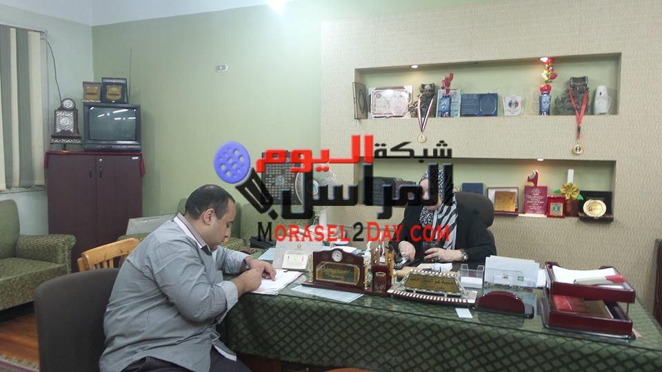 حوار مع وكيل مديرية التربية والتعليم بسوهاج