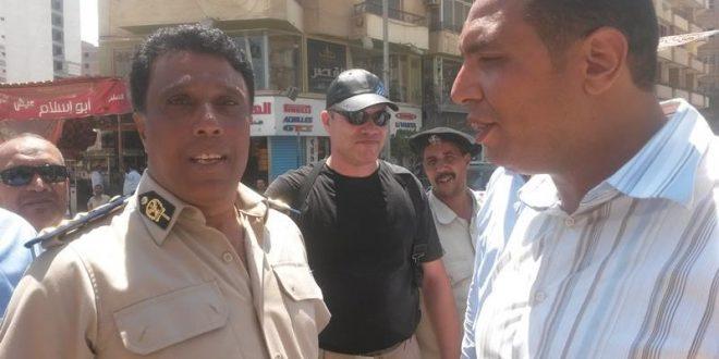 ابو حامد تنسيق بين شرطة المرافق والوحدات المحلية واجهزة المحافظة للحفاظ علي الرقعة الزراعية بتعليمات محافظ الفيوم