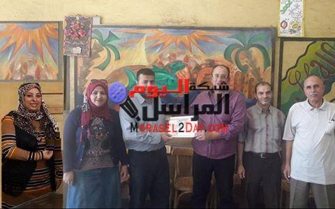سنورس التعليمية بالفيوم تكرم خالد حسين وشيماء روبي والبشيهي وعبير وعز