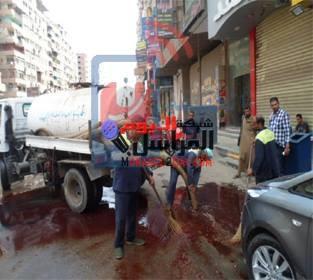 نائب محافظ الجيزة: تخصيص 6 سيارات شفط لإزالة الدماء وناتج الذبح من الشوارع