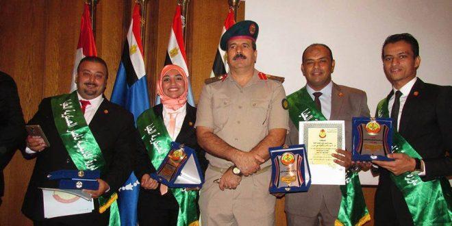 """الصحفى """"عماد سبع """" يختتم دورة الأمن القومى والتخطيط الاستراتيجى بأكاديمية ناصر العسكرية العليا"""