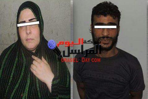 ضبط عاطل وزوجته وبحوزتهما 2 كيلو ونصف من مخدر الحشيش بالقاهرة