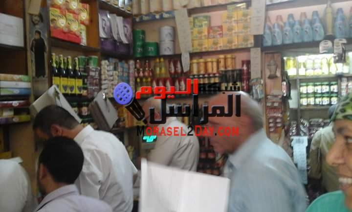 حملة تموينيه مكبرة تجوب قرى وبندر مغاغه التابع لمحافظة المنيا