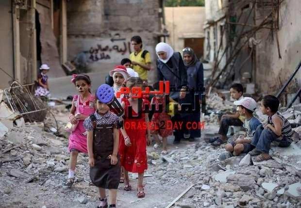طرق باب سورية العيد فحزن كثيرا