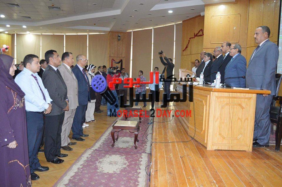 ندوة بجامعة الفيوم بعنوان 74 واسترداد الكرامة المصرية