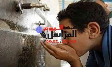 انقطاع المياه لمدة 24 ساعة عن مناطق الفيوم