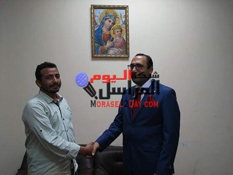 عمرو سعيد آمين العليا للفساد بالوحدة الوطنية تحت التاسيس يعرض التشكيلات على البغدادى رئيس الحزب