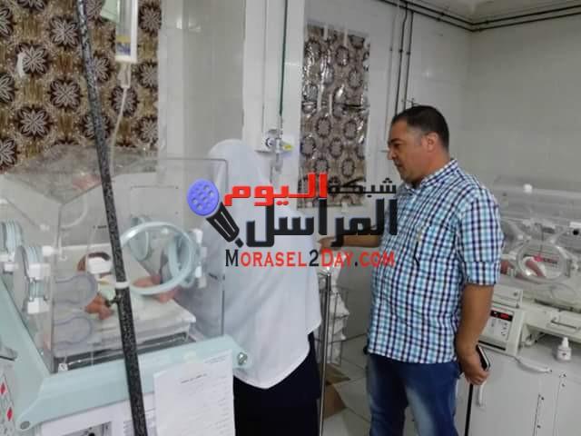 حمله مروريه من صحه بنى سويف كشفت مخالفات عديده بمستشفى الواسطى المركزى