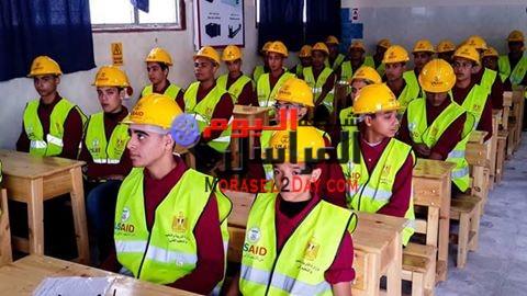 افتتاح أول قسم لوجيستى لخدمة مشروعات محور قناة السويس بمدرسة بورسعيد الثانوية الصناعية البحرية