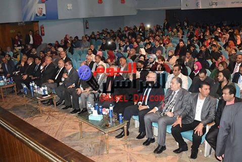 بالصور افتتاح فعاليات المؤتمر الأول للمبادرات الشبابية الاقتصادية والتطوعية والثقافية بالفيوم