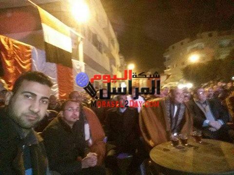 جمعيه من اجل مصر تنظم مشاهده مجانيه للمباريات بصدفا اسيوط