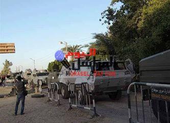 26 مدرعة و29 مجموعة قتالية تحاصر قرية البلابيش بسوهاج وأنباء عن زيارة وزير الداخلية لها غدا