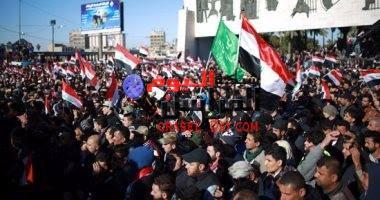 أنصار مقتدى الصدر يتظاهرن فى ساحات بغداد مجددا..
